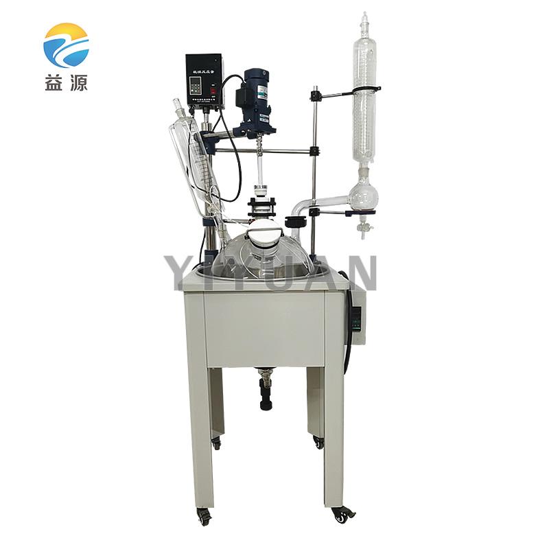 F系列单层玻璃反应釜(加热锅式)