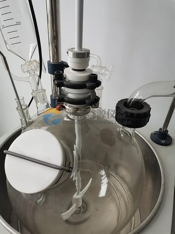 单层玻璃反应釜4