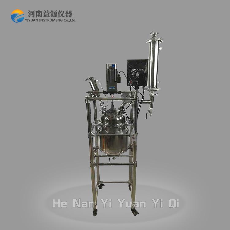 防爆玻璃反应釜和不锈钢反应釜的优缺点