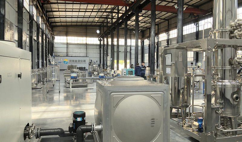 玻璃反应釜-旋转蒸发仪工厂3