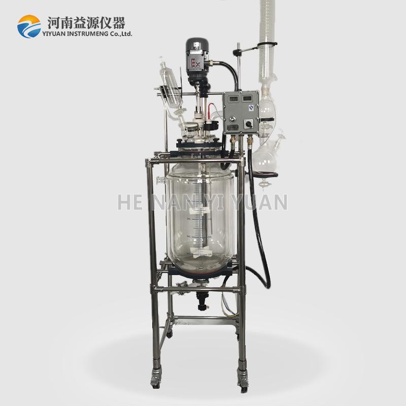 防爆玻璃反应釜在使用过程中需要